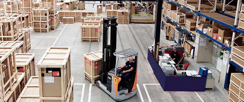 What is cross-docking in logistics?